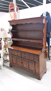Solid Wood Buffet/Hutch for Sale