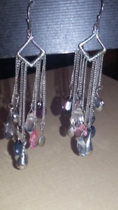Dangle Style Pierced Earrings