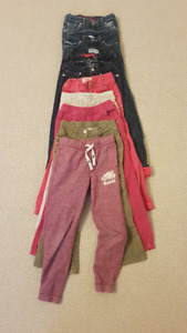 Large Bag Girls size 6 fall/winter clothes