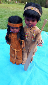 CANADIAN ABORIGINAL DOLLS