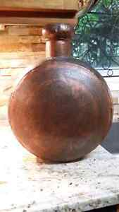 Solid copper large vase from India Kitchener / Waterloo Kitchener Area image 1