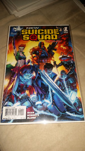 NM DC COMICS THE NEW SUICIDE SQUAD #1, DEATHSTROKE!