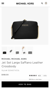 Michael cross crossbody purse