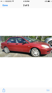 2006 Mitsubishi Lancer Burgandy pic and inspected must sell
