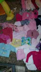 Bundle of  3-6 months clothing