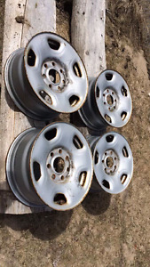 2005 f150 7 bolt stock rims. 17""