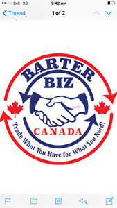 BARTER BIZ CANADA WILL PAY YOU FULL VALUE FOR YOUR ITEM