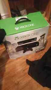 Xbox one with kinect 500g and 7 6games