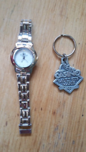 Watch and key chain