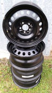 4 Rims - steel 17 in. 5 hole 5x114.3 excellent condition