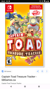 Captain Toad Treasur Tracker Switch