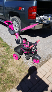 Little tikes girls pink trike