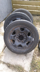 6bolt rims and tires