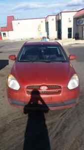 2007 accent *manual* low kms