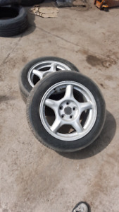 3rd Gen rx7 rims mint condition (P225/50R16)  all 4 rims