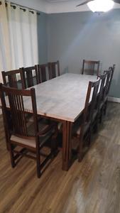 New price oak table