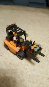 Forklift Lego Truck and Figure