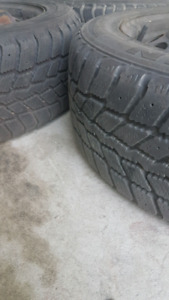 3 205/55R16 91T WINTER Tires with Rims included