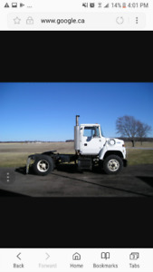 Wanted Single axle truck tractor