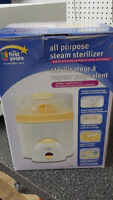 All purpose steam sterilizer - Stelirisateur a vapeur polyvale