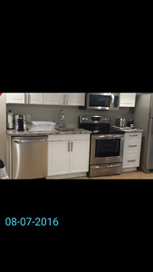 MILITARY IR COMPLIANT 1 BDRM FURNISHED FOR RENT -MINS TO CFB/RMC