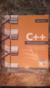 C++ Programming 8th Edition