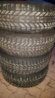 215/70R15 FIRESTONE WINTERFORCE FOR CHEVY VENTURE OR MONTANA