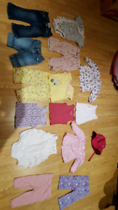 Baby Girl Clothes Size 6-12 months