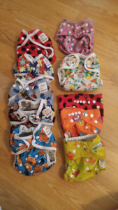 Cloth Diaper Covers and 1 AIO