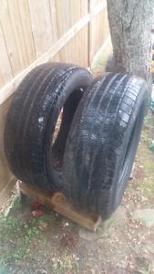 2 x MICHELIN P275 55 20 Tires ...lots of tread left