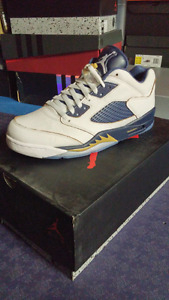 "Brand new Jordan 5 low ""Dunk from above"""