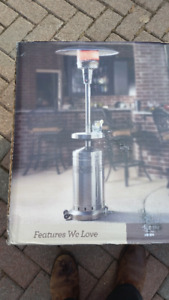 COMMERCIAL GRADE GAS PATIO HEATER BRAND NEW IN BOX