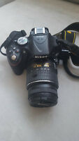 Nikon D5200 with 18-55mm VR Lens Kit  - Perfect Condition