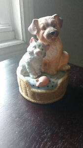 Cat and Dog Musical Box