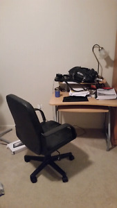 STUDY TABLE AND CHAIR FOR SALE. ...