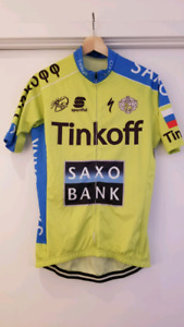 Cycling big and jersey