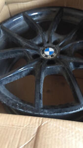 3 Winter Tires and 4 Original Rims 2012 BMW 650 245/ 35 R20
