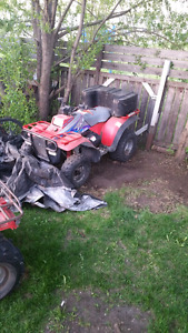 Quad for sale or trade for a decent set of 35in tires
