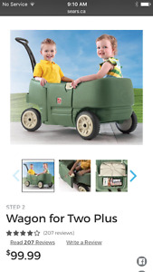 step 2 ride along wagon