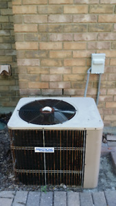 FURNACE AND CENTRAL AIR CONDITIONING UNIT