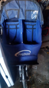 Adams twofold double stroller