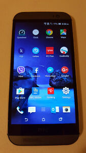 Unlocked HTC one M8,32GB,Work with Wind(freedommobile