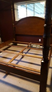 Bombay canopy king size four poster bed