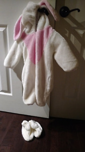 3-9 month baby bunny Halloween costume