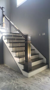 handrails and staircase