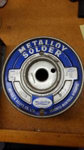 10 lb. Spool of Wire Solder