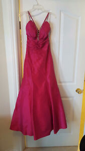Hot Pink NWL Grad Dress