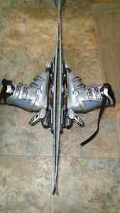 Head c150 women's skis.bindings and boots 100$