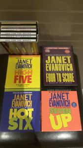 Janet Evanovich Audio books on Cd and Casette