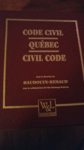 Code civil du Québec version cartable